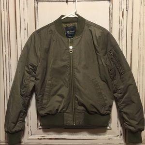 EUC Madewell Bomber Jacket